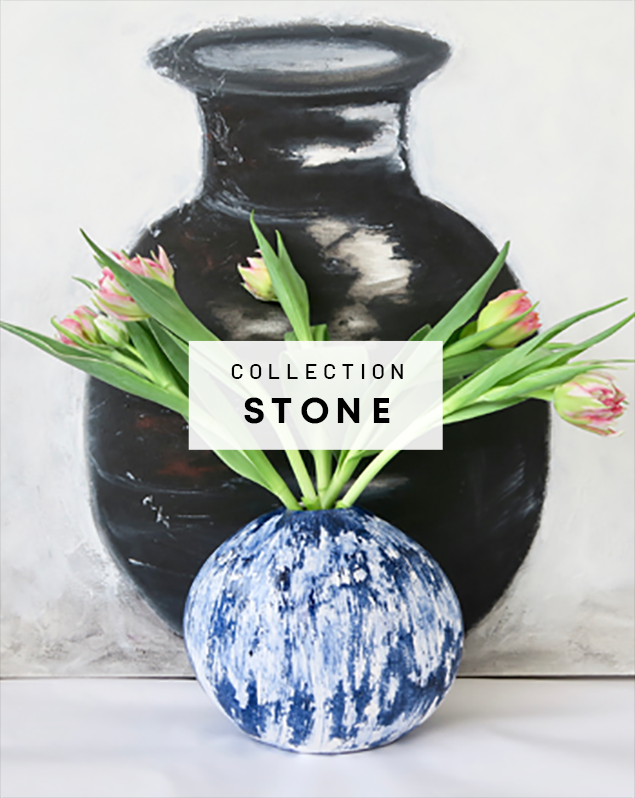 Muryel Tomme - Céramiques - Collection Stone
