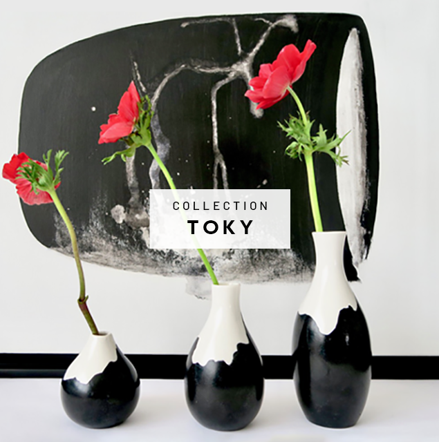 Muryel Tomme - Céramiques - Collection Toki